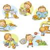 Как организовать режим дня для ребенка