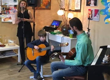 Обучение игре на гитаре с репетитором