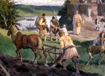Хозяйство и социальный строй восточных славян