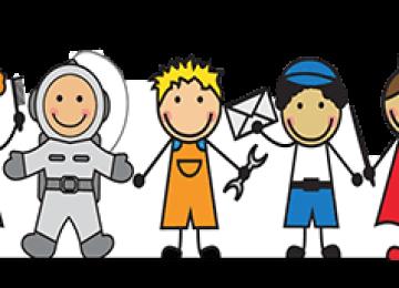 Изучаем профессии с ребенком: 25 легких стишков для дошкольников