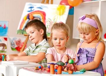 Занятия, проводимые для детей 3-4 лет