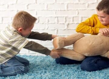 Что делать, если ребенок не делится игрушками?