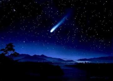 Падают ли звёзды