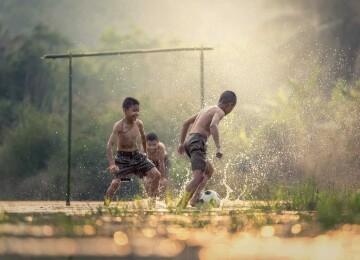 Когда появился футбол
