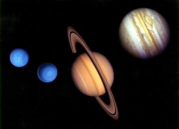 Планеты-гиганты в Солнечной системе