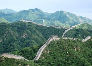 Где проходит Великая китайская стена