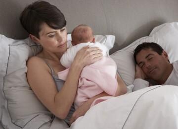 Нарушение  сна. Как выспаться маме?