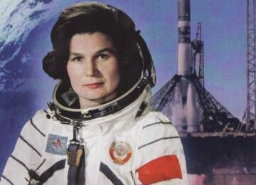 Первая в мире женщина-космонавт