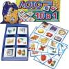 Настольные игры скачать для детей, распечатать развивающую игру лото «Угадай кто это животное?» для малышей 2 — 3 года