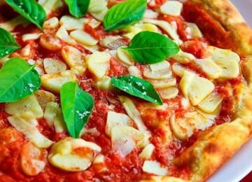 Где была приготовлена первая пицца