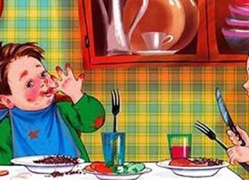 Этикет и правила поведения детей за столом