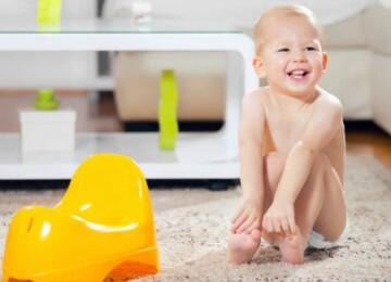 Как отучить ребенка от памперсов и приучить к горшку
