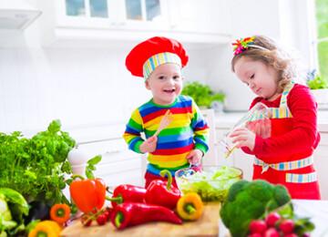 Самые полезные овощи для детей