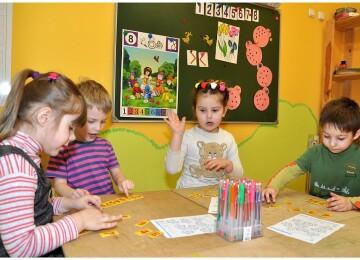 Занятия с ребенком пяти-шести лет