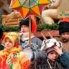 Колядки на Рождество 2021 для детей: короткие и смешные