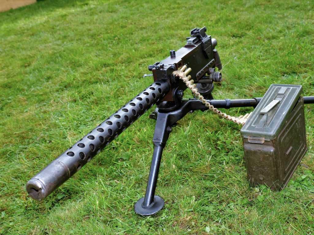 Кто придумал пулемёт